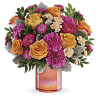 The Perfect Spring Peach Bouquet premium