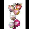 Mother's Day 6 balloon Bouquet standard