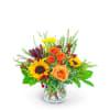 Tuscan Sun Flower Arrangement premium