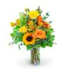 Morning Thyme Flower Arrangement deluxe