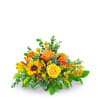 Fresh Thyme Centerpiece Flower Arrangement deluxe