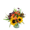 Tuscan Sunrise Flower Arrangement deluxe