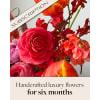 Bouquet of the Month Club (6) Flower Arrangement deluxe