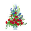 Valiant Urn with Flowers deluxe
