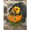 Pumpkin Arrangement with Artificial Florals standard