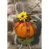 Pumpkin Arrangement with Artificial Florals deluxe