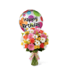 The FTD® Birthday Cheer™ Bouquet with Balloon premium