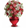 Teleflora's Love Shines Bright Bouquet premium