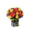 The FTD® Perfect Birthday Orange Bouquet premium