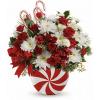 Teleflora's Peppermint Swirl Bouquet standard