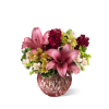 The FTD® Pink Poise™ Bouquet standard