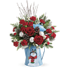 Teleflora's Snowy Daydreams Bouquet standard