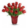 Teleflora's Kissed By Tulips Bouquet premium