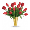 Tempt Me Tulips Bouquet by Teleflora premium