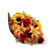 The FTD® Fall Harvest™ Cornucopia 2014 premium