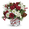 Teleflora's Wondrous Winterberry Bouquet deluxe