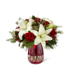 The FTD® Festive Holiday™ Bouquet by Vera Wang deluxe