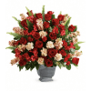 Teleflora's Bold Tribute Bouquet premium