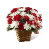 The FTD® Holiday Happiness™ Basket deluxe