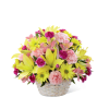 The FTD® Basket of Cheer® Bouquet premium
