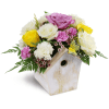 Birdhouse of Blooms premium