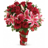 Teleflora's Swirling Desire Bouquet premium