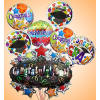 Graduation Balloon Bunch deluxe