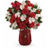 Teleflora's Red Haute Bouquet standard