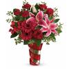 Teleflora's Swirling Desire Bouquet standard