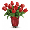 Teleflora's Kissed By Tulips Bouquet standard