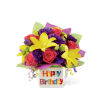 The FTD® Happy Birthday Bouquet deluxe