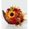 FTD's Fall Harvest™ Cornucopia deluxe