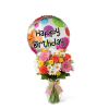 The FTD® Birthday Cheer™ Bouquet with Balloon standard
