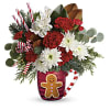 Send A Hug Gingerbread Greetings Bouquet standard