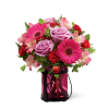 The FTD® Pink Exuberance™ Bouquet standard