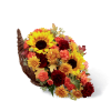 The FTD® Fall Harvest™ Cornucopia 2014 deluxe