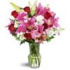 Blushing Heart Bouquet™ premium