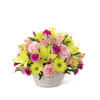 The FTD® Basket of Cheer® Bouquet deluxe
