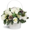 Silver Kisses™ Basket deluxe