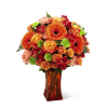 The FTD® Orange Escape Bouquet premium