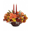Teleflora's Celebrate Fall Centerpiece premium
