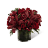 The FTD® Season's Sparkle™ Bouquet deluxe