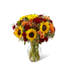 The FTD® Fall Frenzy™ Bouquet premium