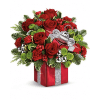 Teleflora's Gift Wrapped Bouquet deluxe