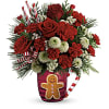Send A Hug Winter Sips Bouquet by Teleflora deluxe
