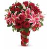 Teleflora's Swirling Desire Bouquet deluxe
