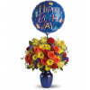 Fly Away Birthday Bouquet premium