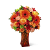The FTD® Orange Escape Bouquet deluxe