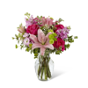 The FTD® Pink Posh™ Bouquet standard