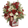 Teleflora's Quaint Christmas Bouquet premium